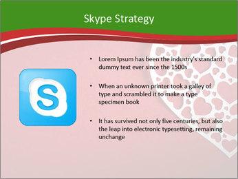 Silver Heart PowerPoint Template - Slide 8