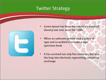 Silver Heart PowerPoint Template - Slide 9