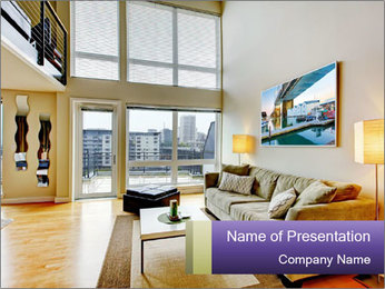 Modern Interior Design PowerPoint Templates - Slide 1