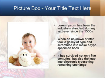 Sad-Looking Child PowerPoint Template - Slide 13