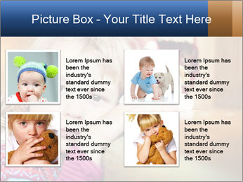 Sad-Looking Child PowerPoint Template - Slide 14