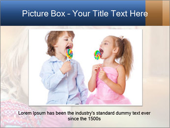 Sad-Looking Child PowerPoint Template - Slide 16