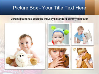 Sad-Looking Child PowerPoint Template - Slide 19