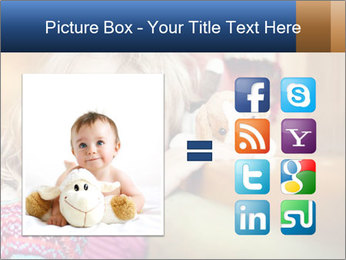 Sad-Looking Child PowerPoint Template - Slide 21