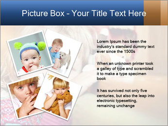Sad-Looking Child PowerPoint Template - Slide 23