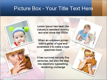 Sad-Looking Child PowerPoint Template - Slide 24