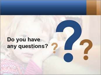 Sad-Looking Child PowerPoint Template - Slide 96