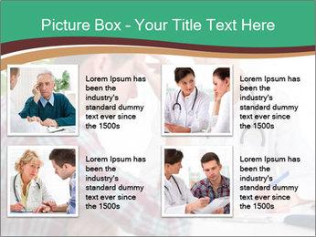 Man Visiting Nervous Specialist PowerPoint Template - Slide 14