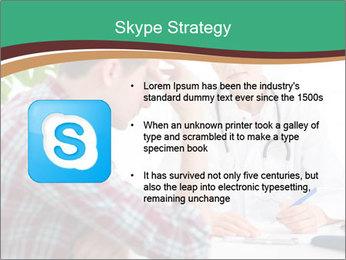 Man Visiting Nervous Specialist PowerPoint Template - Slide 8