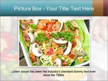Salad Preparation PowerPoint Template - Slide 15
