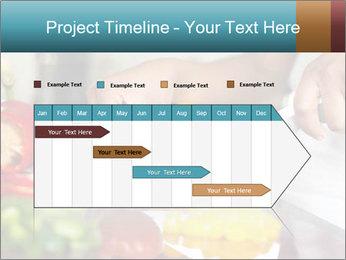 Salad Preparation PowerPoint Template - Slide 25