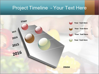 Salad Preparation PowerPoint Template - Slide 26