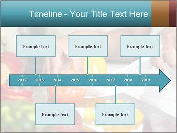 Salad Preparation PowerPoint Template - Slide 28