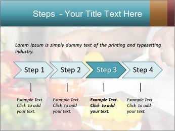 Salad Preparation PowerPoint Template - Slide 4