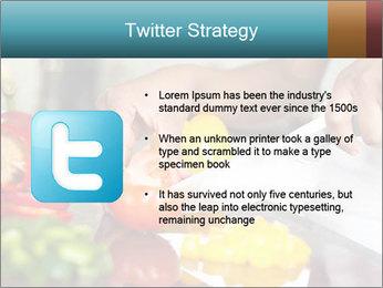 Salad Preparation PowerPoint Template - Slide 9