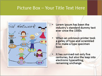 Young Lady With Pimples PowerPoint Template - Slide 13