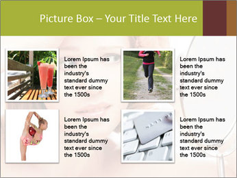 Young Lady With Pimples PowerPoint Templates - Slide 14