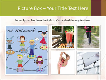 Young Lady With Pimples PowerPoint Templates - Slide 19