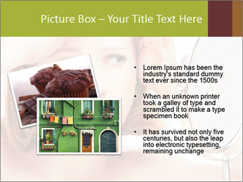 Young Lady With Pimples PowerPoint Templates - Slide 20
