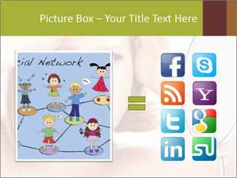 Young Lady With Pimples PowerPoint Templates - Slide 21