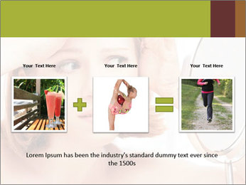 Young Lady With Pimples PowerPoint Templates - Slide 22