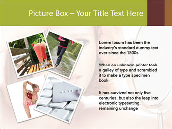 Young Lady With Pimples PowerPoint Template - Slide 23