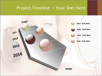 Young Lady With Pimples PowerPoint Templates - Slide 26