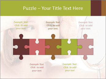 Young Lady With Pimples PowerPoint Templates - Slide 41