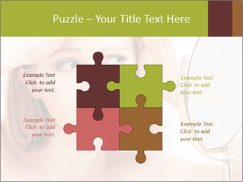 Young Lady With Pimples PowerPoint Templates - Slide 43