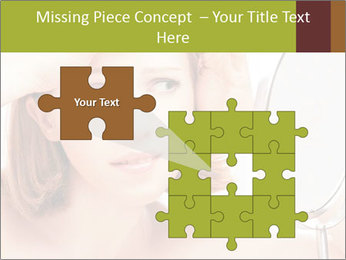 Young Lady With Pimples PowerPoint Templates - Slide 45