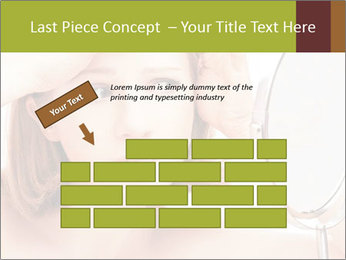 Young Lady With Pimples PowerPoint Templates - Slide 46