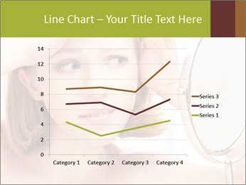 Young Lady With Pimples PowerPoint Templates - Slide 54