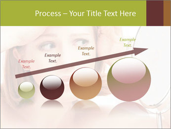 Young Lady With Pimples PowerPoint Templates - Slide 87