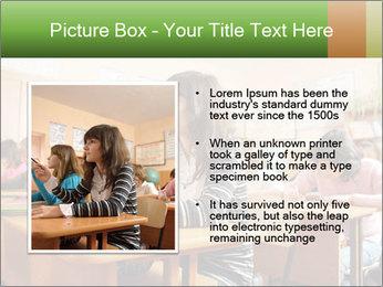 School Auditorium PowerPoint Template - Slide 13