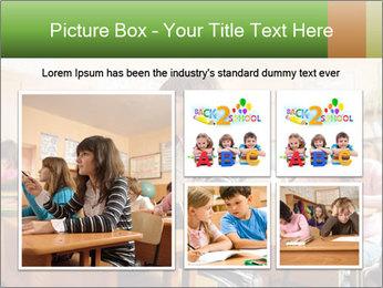 School Auditorium PowerPoint Template - Slide 19