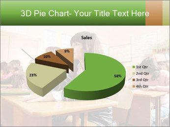 School Auditorium PowerPoint Template - Slide 35