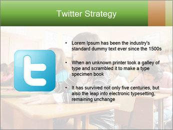 School Auditorium PowerPoint Template - Slide 9