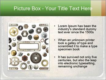 Bronze Surface PowerPoint Template - Slide 13