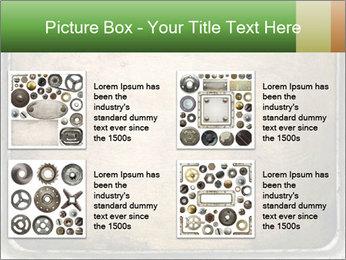 Bronze Surface PowerPoint Template - Slide 14