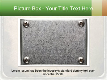 Bronze Surface PowerPoint Template - Slide 16