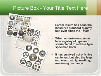 Bronze Surface PowerPoint Template - Slide 17
