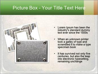 Bronze Surface PowerPoint Template - Slide 20