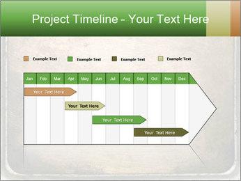 Bronze Surface PowerPoint Template - Slide 25