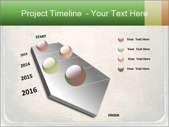 Bronze Surface PowerPoint Template - Slide 26