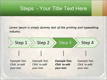 Bronze Surface PowerPoint Template - Slide 4
