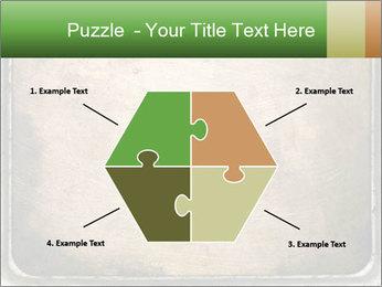 Bronze Surface PowerPoint Template - Slide 40