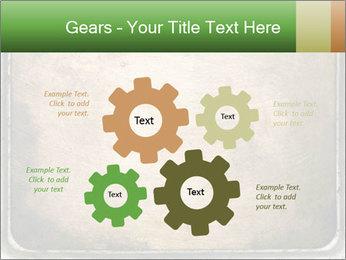 Bronze Surface PowerPoint Template - Slide 47