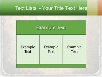 Bronze Surface PowerPoint Template - Slide 59
