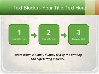Bronze Surface PowerPoint Template - Slide 71