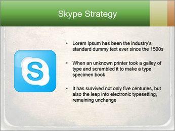 Bronze Surface PowerPoint Template - Slide 8